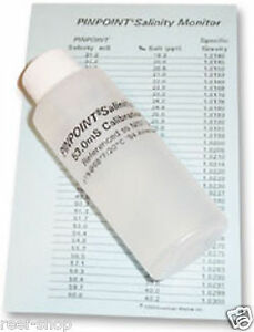 American Marine Pinpoint Salinity Calibration Fluid for Refractometers & Probes