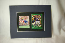 Unique Tom Brady / Patriots Sports Portrait  New England Patriots Football Card