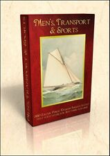 Men's, Transport & Sports - 500 public domain images on DVD inc Vanity Fair pics