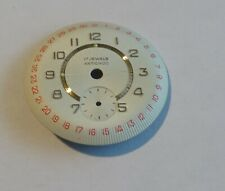 Watchmaker Dial Watch Curved Diameter 1 1/8in With Seconds White