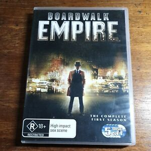 Boardwalk Empire The Complete First Season DVD R4 LIKE NEW FREE POST