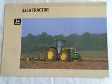 John Deere 3350 Tractor brochure undated English text ref 7-1894061