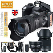 "Polo Digital Camera 1080P 33MP 3"" LCD 24X Zoom Video Camcorder with Flashlight"