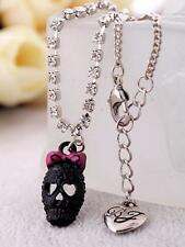 Betsey Johnson pendant  Fashion personality skeleton lady anklet foot ring chain