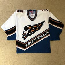 Vintage Washington Capitals Screaming Eagle CCM Hockey Jersey Boys Small/Medium