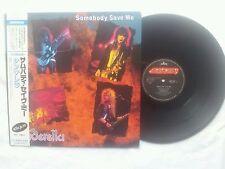 CINDERELLA SOMEBODY SAVE ME JAPAN 12 INCH VINYL 4 TRACK EP 1987 MEGA MEGA RARE !