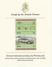 Nevis (2088) - 1985 Cars - Porsche  imperf on Format Int PROOF  CARD
