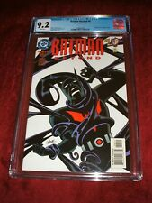 BATMAN BEYOND 6 CGC 9.2 WHITE PAGES 1ST APPEARANCE OF INQUE KEY ISSUE