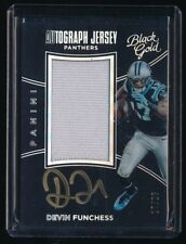 1/1 DEVIN FUNCHESS 2016 PANINI BLACK GOLD AUTO 17/25 (JERSEY NUMBER) *PANTHERS*