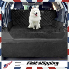 Pet Cargo Liner Cover Dog Seat Cover Mat for Suvs with Bumper Flap Protection