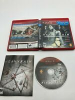 Sony PlayStation 3 PS3 CIB Complete Tested Heavy Rain: Director's Cut