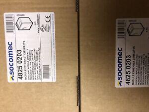 2 OFF Socomec 4825 0203 Diris Ethernet Module