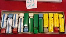SESAME.Boite rare de 12 camions BERLIET,MERCEDES,BERNARD..etc.m.in fr.(lot n°17)