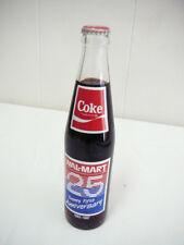 WALMART 25th Anniversary COCA COLA BOTTLE 10 oz Coke 1962-1987 (31 yrs ago)