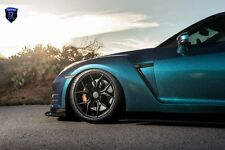 20x10 +40 20x12 +22 Rohana RFX5 5x114.3 MATT BLACK WHEEL Fit Nissan GTR R35 2013