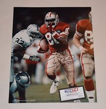 SF 49ERS HOF JERRY RICE SIGNED AUTOGRAPHED 16x20 PHOTO TRISTAR AUTHENTICATION