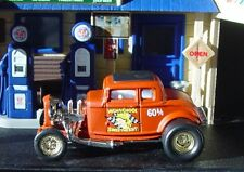 100% HOT WHEELS '32 FORD A/G NHRA DRAGSTER RUBBER TIRE LIMITED EDITION!
