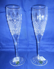 Waterford Irish Lace Champagne Flutes - Set of 2 - New