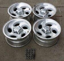 "95/01 Ford Explorer Ranger 15"" inch Alloy Rim 15x7 Teardrop Wheels Caps Lugs Set"
