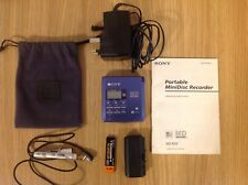 Sony MZ-R55 Personal MiniDisc Player