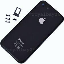 iPhone 8 Alu Mittelrahmen Space Grau Gehäuse+Glas Rückseite Backcover + Kleber