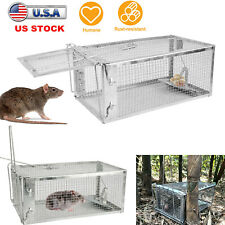 1/2/4Pack Animal Mouse Humane Live Trap Hamster Cage Mice Rat Control Catch Bait