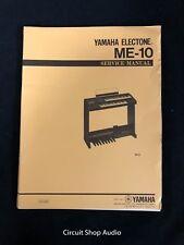 Original Yamaha Electone ME-10 Service Manual