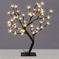 80CM 128LED WARM WHITE BONSAI CHERRY BLOSSOM CHRISTMAS OUTDOOR TREE
