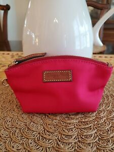 Dooney and Bourke Fuchsia Cosmetic/zip Pouch~ Cute!
