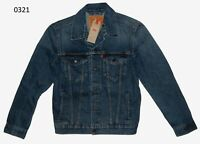 Levi's Denim Trucker Jacket Mugito Blue Levis New With Tags #0321
