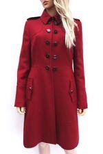 Cappotti e giacche da donna lunghezza al ginocchio business con bottone