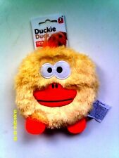 KARLIE - DUCKIE DUCK BIG SQUEAK PUPPY / SMALL DOG SOFT MATERIAL PLAY TOY - NEW -