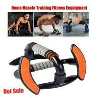 Pull Push Up Bars Press Stand Arm Chest Exercise Fitness Home Gym Foam Handles