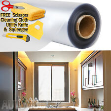 """48""""x120"""" Frosted Glass Film Static Cling Office Bathroom Window Tint 4ft x 10ft"""