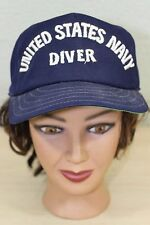 United States Navy Diver USN Baseball Trucker Cap Hat Adjustable
