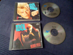 2 CDs Billy Idol - Best Of Greatest Hits Collection + Rebel Yell Catch My Fall