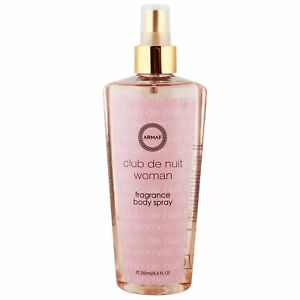 Armaf Club De Nuit Women's Fragrance Body Spray For Scented Luxuries 250 ml
