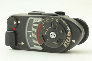 [Near Mint] Leica Meter MR-4 MR4 Black For M2 M3 M4 M4-2 M4-P From Japan #82