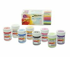 Foodcolours Lebensmittelfarben Set 8 x 35g