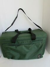 """Tote Case Zippered 22"""" Padded Compartment Carry Bag Durable Poly Organizer"""