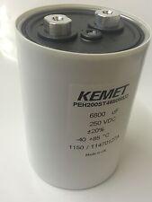 6800UF 250 V Kemet/Rifá PEH200ST4680MU2 alta corriente industria Condensador faa81