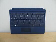 Microsoft Surface 3 Type Keyboard Cover Blue A1654 UK QWERTY Layout BNIB inc VAT