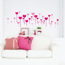 Heart Stick Vinyl Coated Wall Stickers, Wall Decals, Wall Art