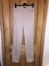 "Armani Jeans Beige Chino Straight Leg Cotton Trousers Size W30"" L34"" *K2"