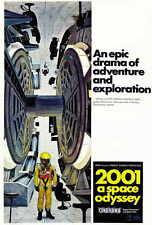 2001: A SPACE ODYSSEY Movie POSTER E 27x40 Keir Dullea Gary Lockwood