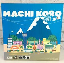 Machi Koro Board Game original card dice engine building IDW Games sealed parts