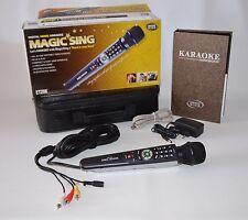 Karaoke Magic Sing micrófono et-25k con 1' 810 canciones (sucesor de et-9000)