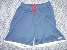 Reebok Mens Large Dark Blue Athletic Shorts
