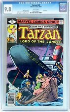 Tarzan #29 (Oct 1979, Marvel) CGC 9.8 NM/MT WHITE Pages 1 of 2 in 9.8 Last Issue