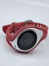Nike Women's Red Digital Sport Watch WORKING